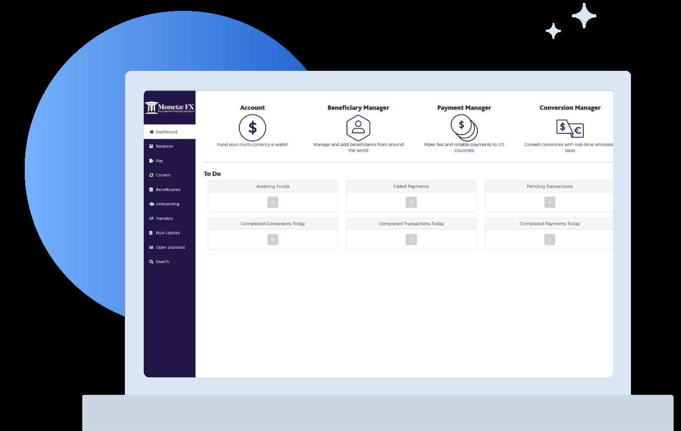 Monetae FX online platform
